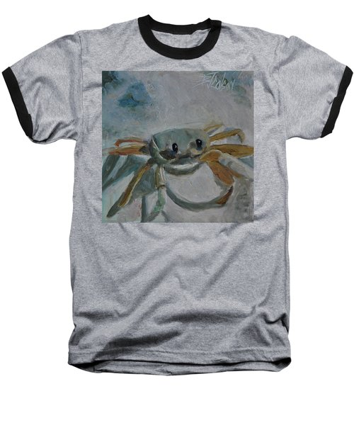 Cancer's Are Not Crabby Baseball T-Shirt by Billie Colson