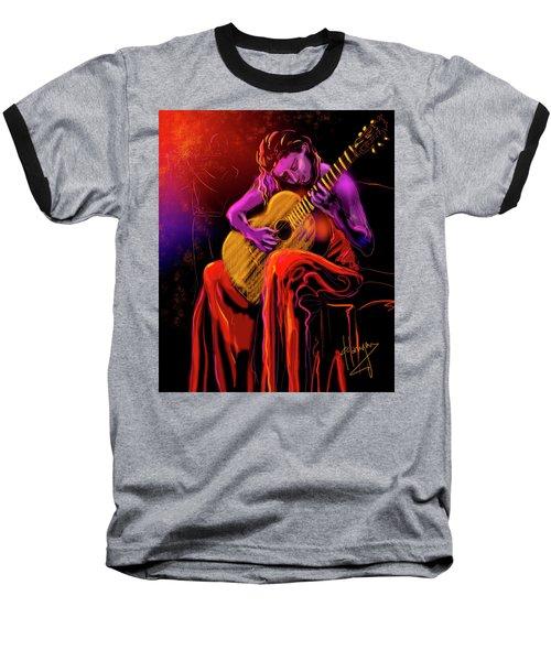 Cancion Del Corazon Baseball T-Shirt by DC Langer