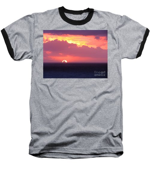 Sunrise Interrupted Baseball T-Shirt