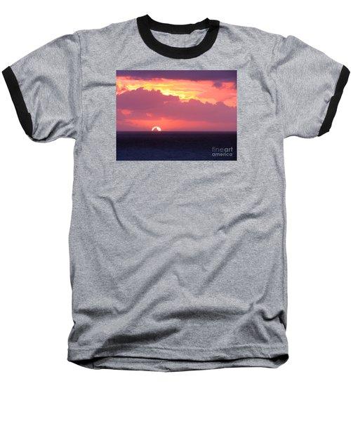 Sunrise Interrupted Baseball T-Shirt