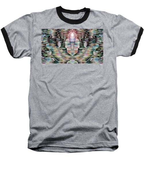 Baseball T-Shirt featuring the digital art Alignment by Mark Greenberg