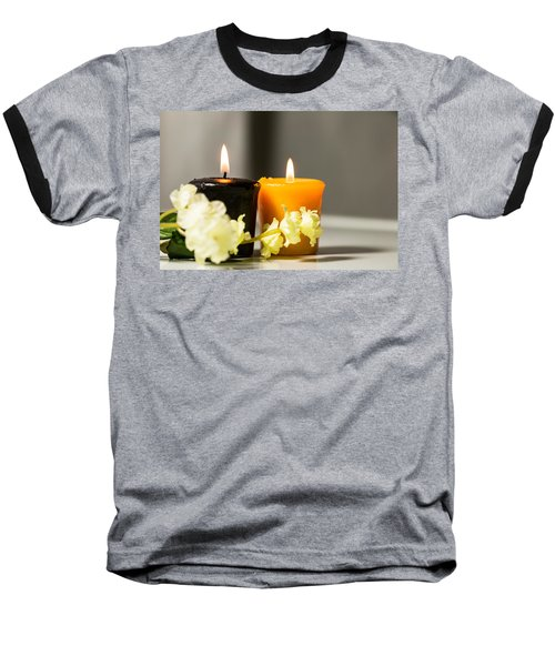 Candle Baseball T-Shirt