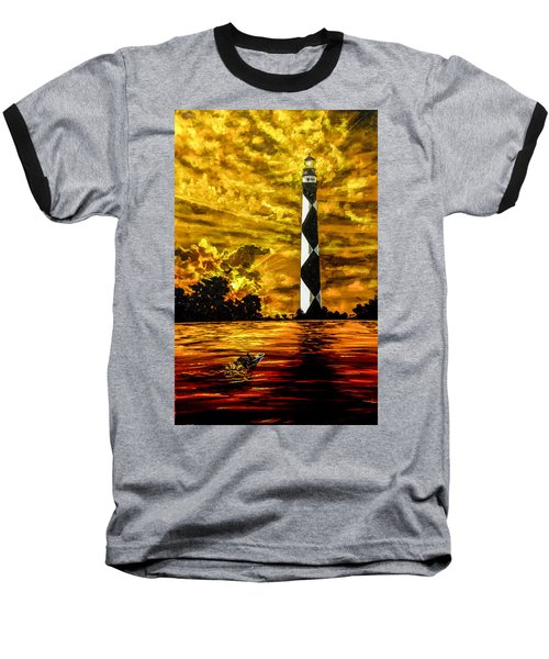 Candle On The Water Baseball T-Shirt