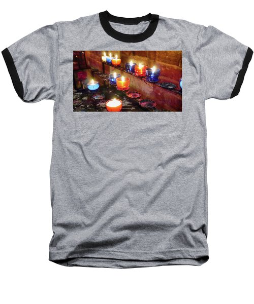 Candles Baseball T-Shirt