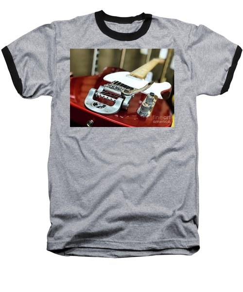 Candy Apple Fender Baseball T-Shirt