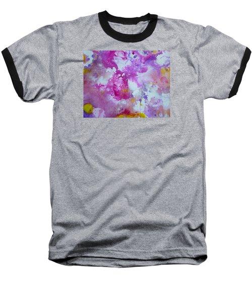 Candy Clouds Baseball T-Shirt by Tracy Bonin