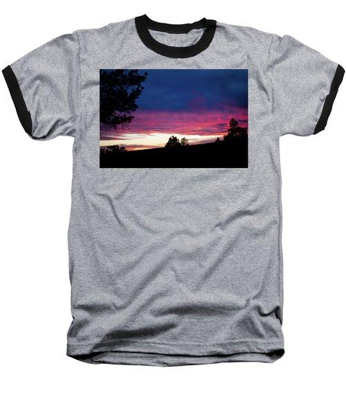 Candy-coated Clouds Baseball T-Shirt
