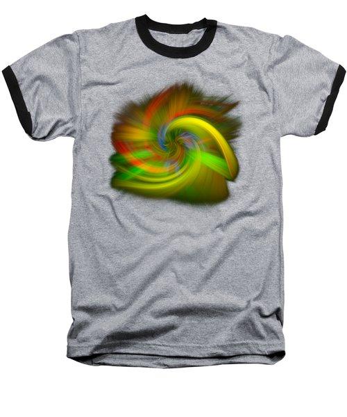 Candy Mountain Twirl Baseball T-Shirt