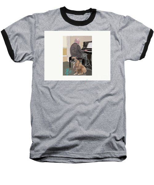Canine Composition Baseball T-Shirt
