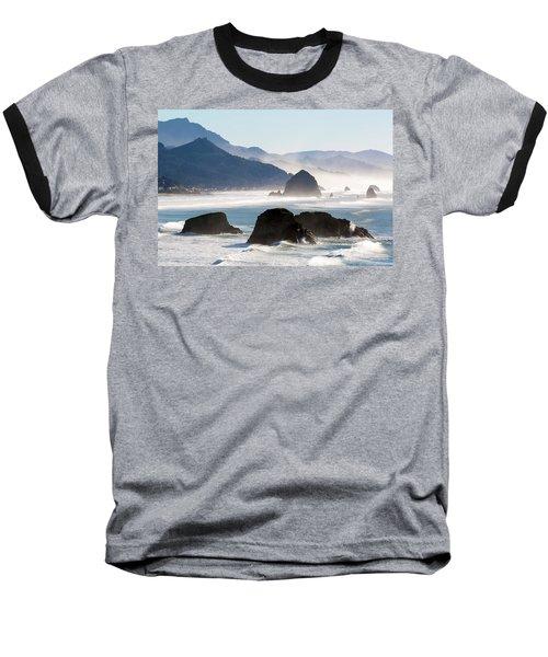 Cannon Beach On The Oregon Coast Baseball T-Shirt