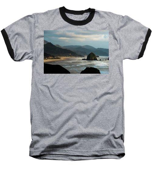 Cannon Beach, Oregon Baseball T-Shirt