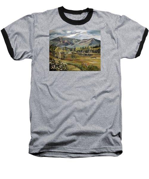 Cannon Mountain From Sugar Hill New Hampshire Baseball T-Shirt
