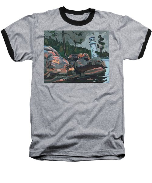 Canoe Lake Light Baseball T-Shirt
