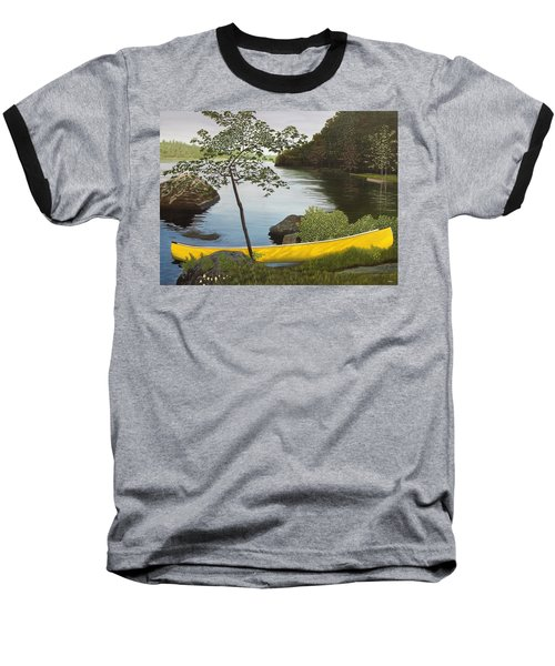 Canoe On The Bay Baseball T-Shirt