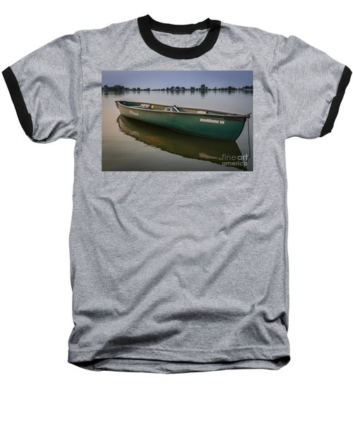 Canoe Stillness Baseball T-Shirt