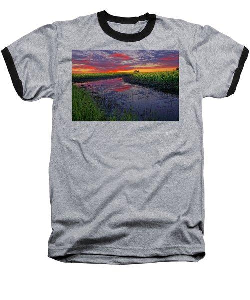 Canola At Dawn Baseball T-Shirt