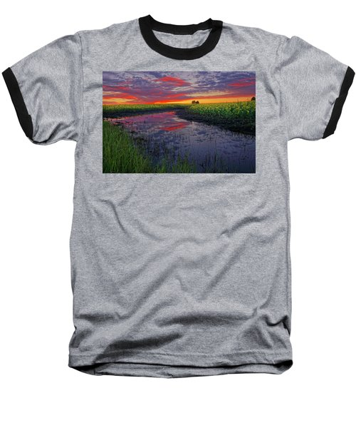 Canola At Dawn Baseball T-Shirt