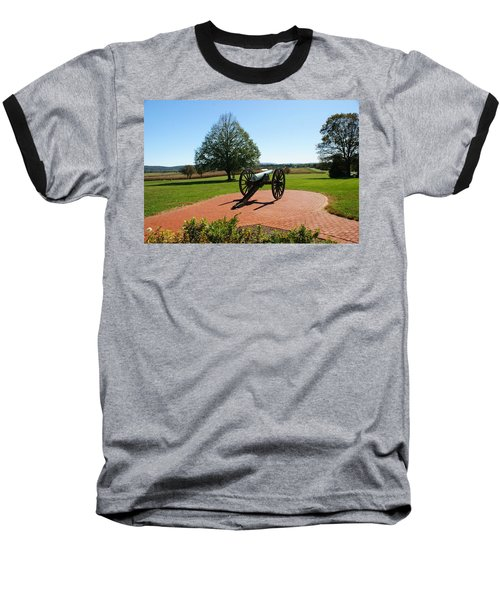 Canon At Antietam Baseball T-Shirt