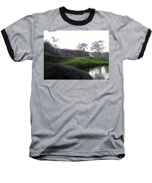 Cantine By The River Baseball T-Shirt