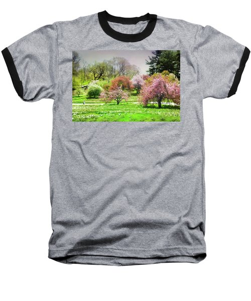 Baseball T-Shirt featuring the photograph Garden Canvas  by Diana Angstadt