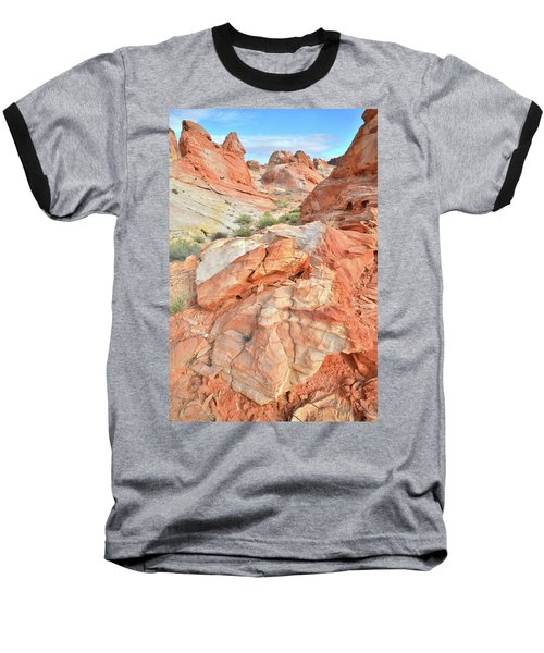Canyon Color In Valley Of Fire Baseball T-Shirt