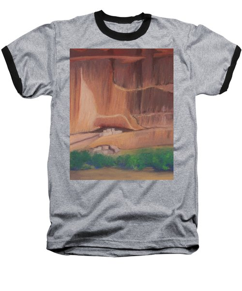 Canyon De Chelly Cliffdwellers #2 Baseball T-Shirt