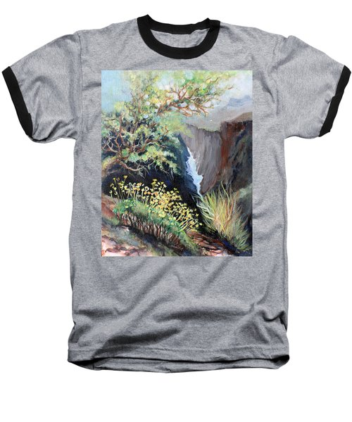 Canyon Land Baseball T-Shirt by Linda Shackelford
