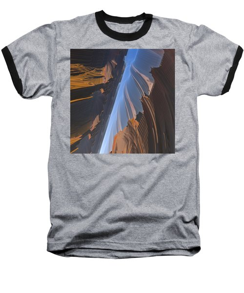 Baseball T-Shirt featuring the digital art Canyon by Lyle Hatch