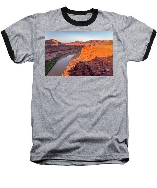 Canyon Of Colorado River - Sunrise Aerial View Baseball T-Shirt