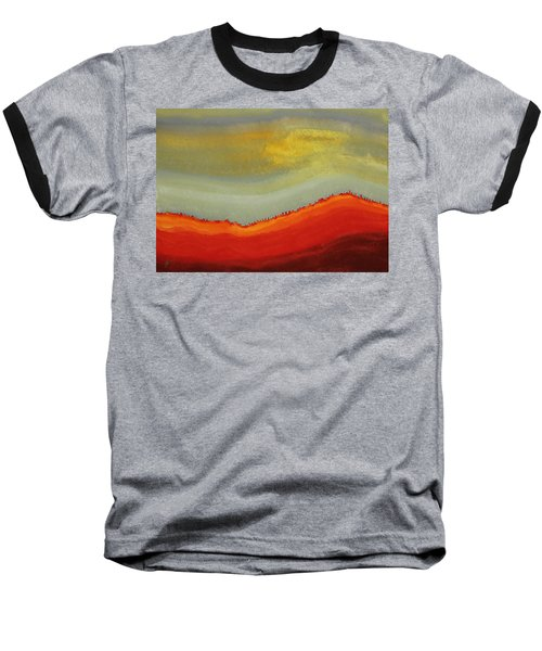 Canyon Outlandish Original Painting Baseball T-Shirt