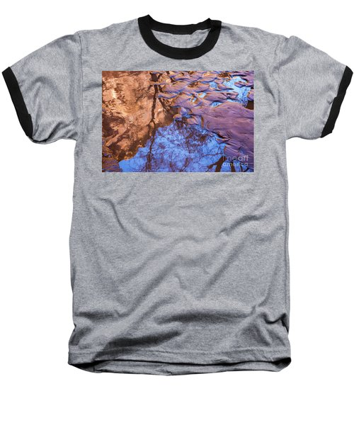 Canyon Reflections Baseball T-Shirt