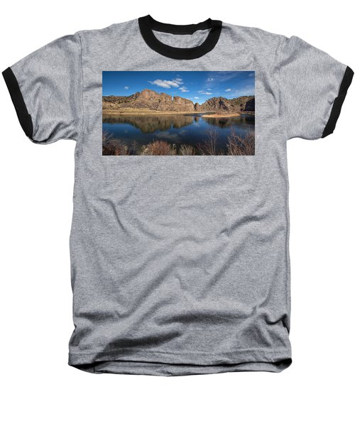 Canyon Reflections Baseball T-Shirt