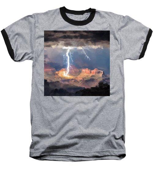 Canyon Storm Baseball T-Shirt