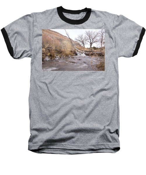Canyon Stream Current Baseball T-Shirt by Ricky Dean