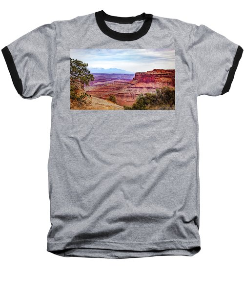 Baseball T-Shirt featuring the photograph Canyonlands National Park by James Woody