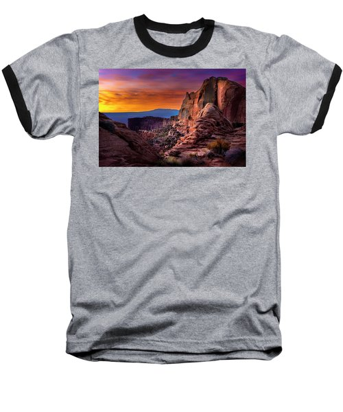 Canyonlands Sunrise Baseball T-Shirt