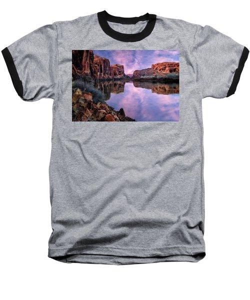 Canyonlands Sunset Baseball T-Shirt