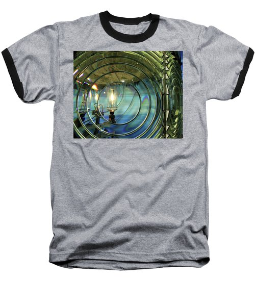 Cape Blanco Lighthouse Lens Baseball T-Shirt