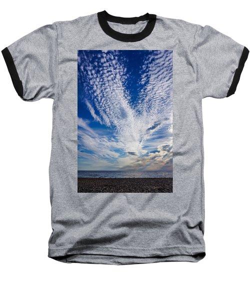 Cape Clouds Baseball T-Shirt
