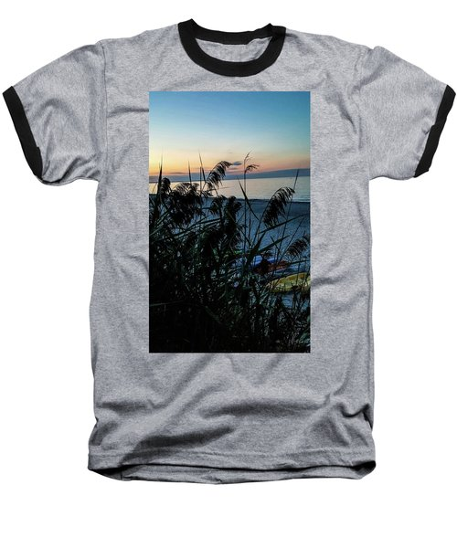 Cape Cod Bay Baseball T-Shirt by Bruce Carpenter