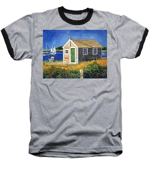 Cape Cod Boat House Baseball T-Shirt