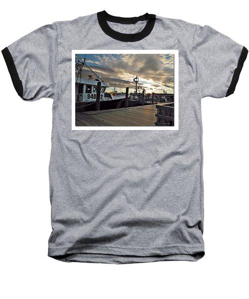 Baseball T-Shirt featuring the photograph Cape Cod Harbor by Joan  Minchak