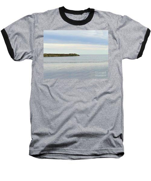 Cape Cod Jetty Sundown Baseball T-Shirt