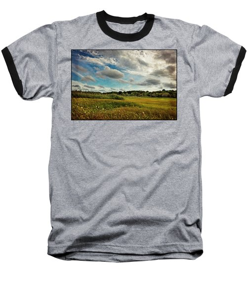 Cape Cod Marsh 2 Baseball T-Shirt