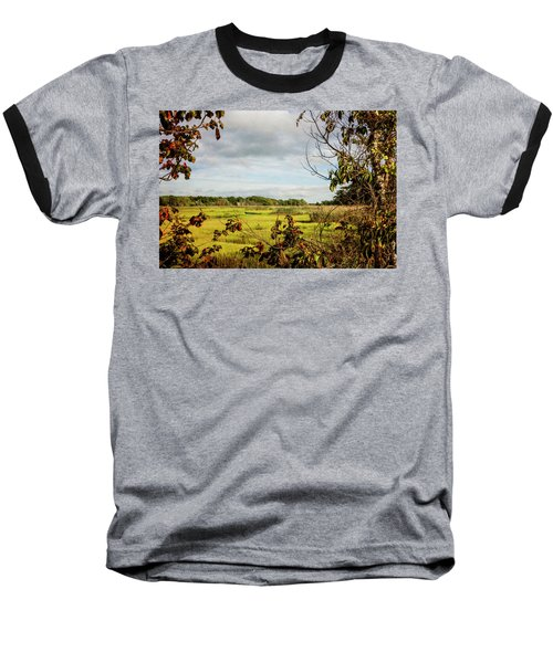 Cape Cod Marsh 3 Baseball T-Shirt