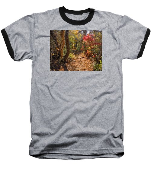 Cape Cod Path Baseball T-Shirt