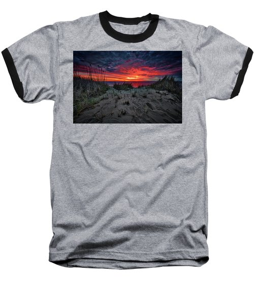 Cape Cod Sunrise Baseball T-Shirt