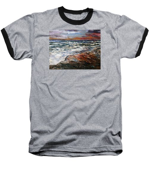 Cape Cod Sunset 1 Baseball T-Shirt