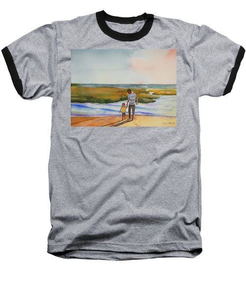 Cape Cod Sunset Baseball T-Shirt