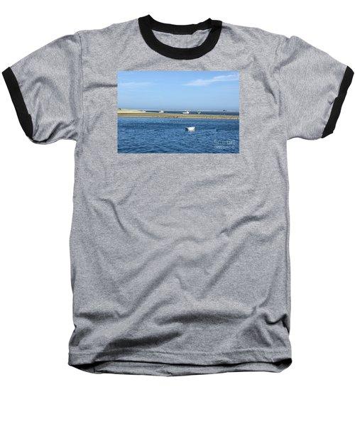 Cape Cod Tranquility Baseball T-Shirt